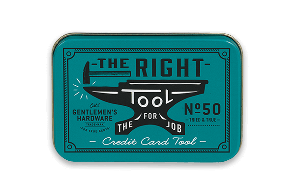 The Right Tool For the Job - Credit Card Tool