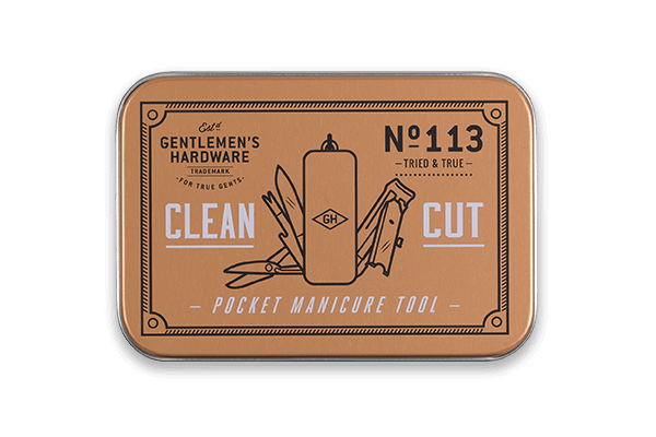 Clean Cut - Gentleman's Hardware Pocket Manicure Tool