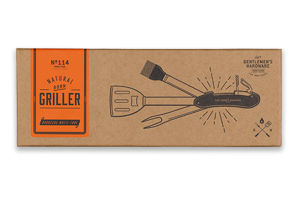 Natural Born Griller - Gentleman's Hardware Barbecue Multi-Tool